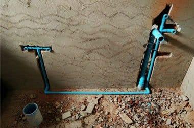 Postavljanje vodovodnih cevi